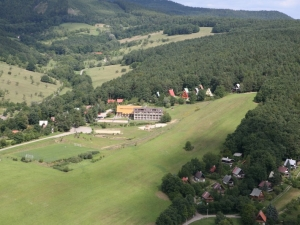 Hotel VegaLuhačovice letecky