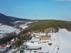 Hotel Vega - zimní pohled