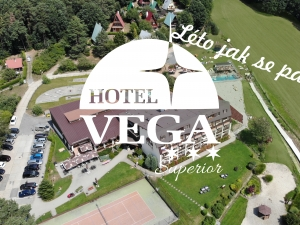 Venkovní bazén Hotel Vega Luhačovice